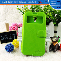 [GGIT] Low MOQ PU Leather Flip Cover Case for Samsung S4
