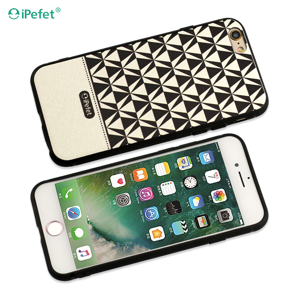 Plaid Pattern PU Leather Stand Case with Photo Frame Phone Case for iPhone 7,7Plus, 6/6s