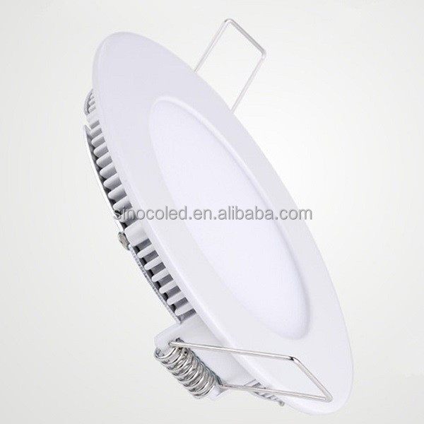 Flat Recessed Round ultra slim 18W LED Panel Downlight