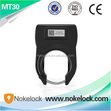 Nokelock auto electronic bike lock remote lock GPRS+GPS lock for intelligent bicycle sharing system