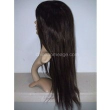 Homeage full silk top wig 100% hand tied glueless wigs