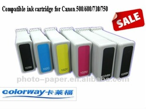 130ML PFI-102 Ink for Canon LP17 / LP24, iPF500 / 600 / 605 / 610 / 650 / 655, Canon iPF700 / 710 / 720 / 750 / 755