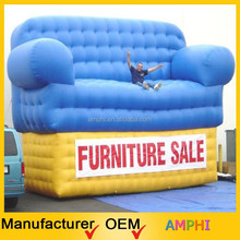 Amazing high quality outdoor commercial inflatable models/sofa