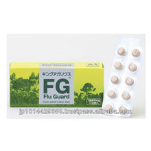Immune boosters KingAgaricus FluGuard taking with flu cold medicine