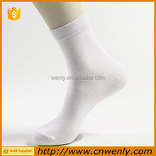 China Manufacturer Wholesale 100% bamboo fiber sock organic for men