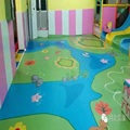 kindergarten customized PVC flooring