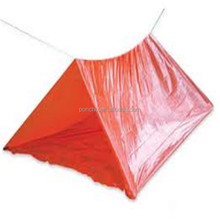 Manufacture supply plastic waterproof camping tube tent