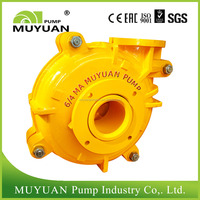 Bottom ash slurry pump
