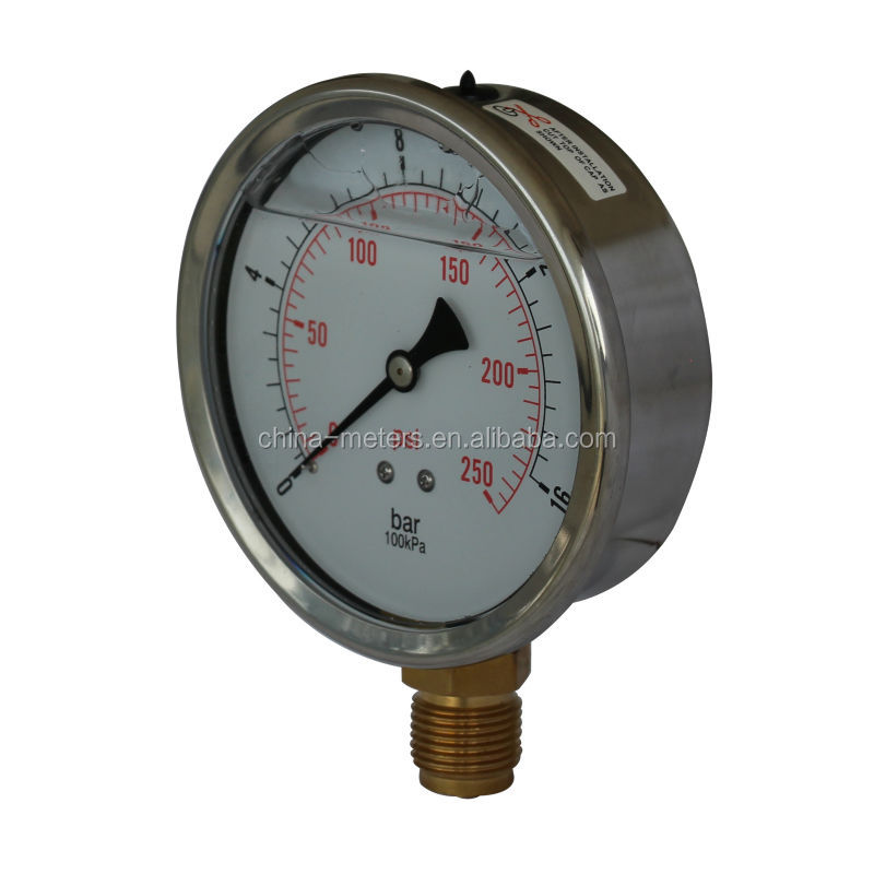 Caterpillar pressure gauge