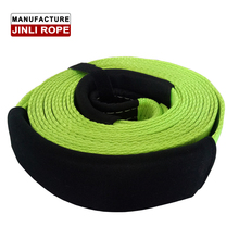 JINLI recovery kit Tow strap Winch Tow strap with 100% polyester