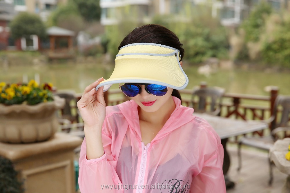 New fashion visor sun hat summer beach hat UV sunscreen hat MBCA103