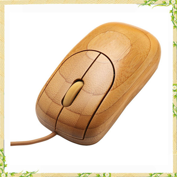 2017 hot sale Eco friendly computer wooden mouse
