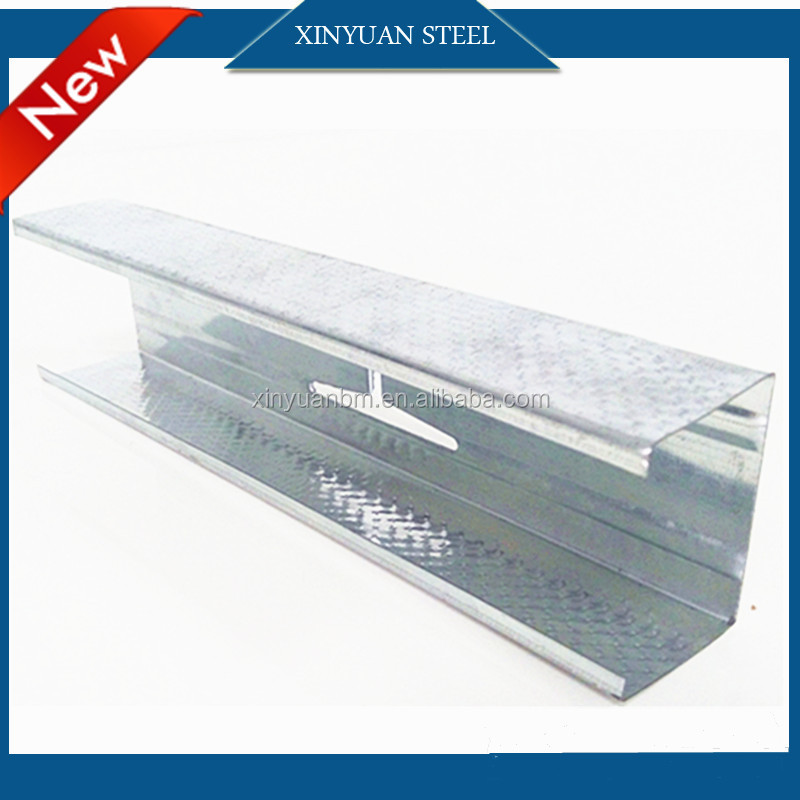 Drywall System Galvanized Metal Stud And Track Ceiling Batten/Steel Profile L Angle,Extruded Steel Profile