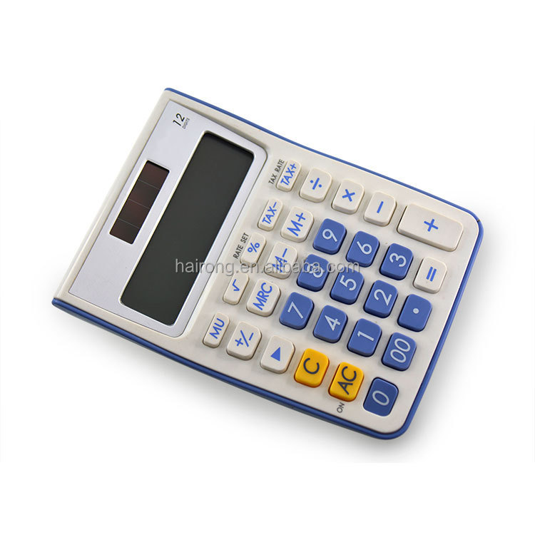 Hairong new product desktop solar calculator mini size graphing calculator