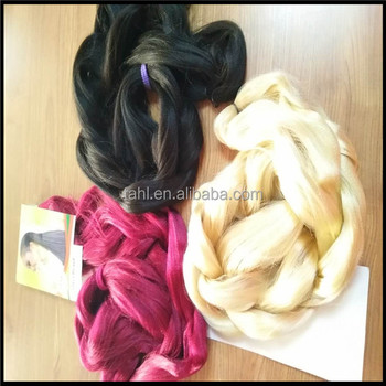 high quality 1Piece Jumbo Braiding Hair synthetic hair for crochet black african braids hair