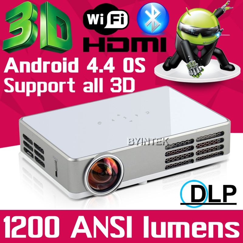 build your home theater DLP 3D HDMI USB led dlp projector 1280*800 1200ANSI lumens Video Pico Projector Proyector beamer