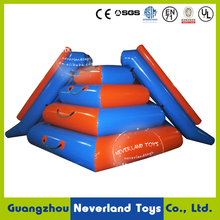 Inflatable floating water slide, Inflatable water floats