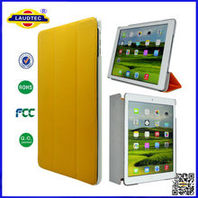 for ipad 5,smart cover +back matte crystal hard case for ipad air Laudtec