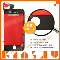 Grade AAA quality cheap lcd replacement lens for iphone 4s lcd spare parts