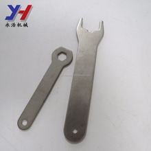 Custom made metal stamping custom 304 stainless steel high quality open end tire wrench parts