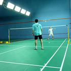 Indoor synthetic 4.5mm pvc sport badminton court flooring