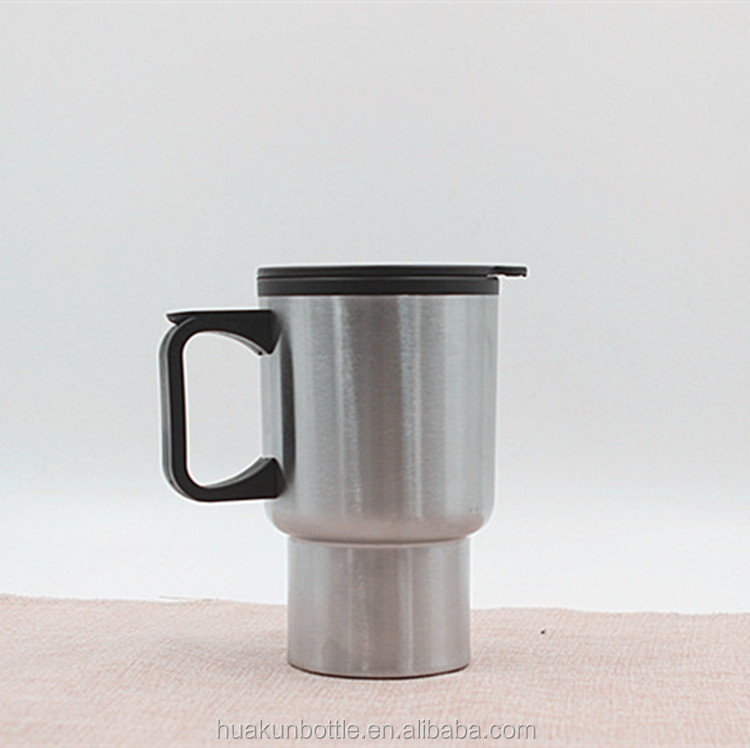 best selling 17oz stainless steel personalized insulated plain coffee travel mug with handle wholesale