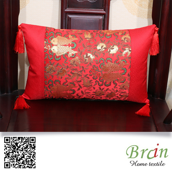 2016 best selling decorative Chinese fashion cushion