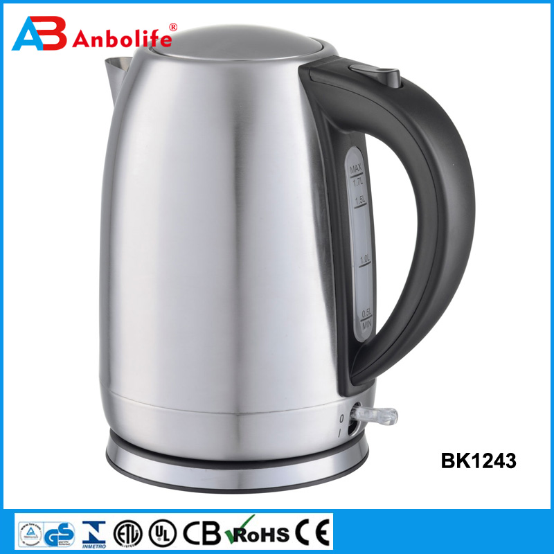 Anbo Automatic Shut Off Car 1.5L 1.8L 2.0L Cordless Stainless Steel Electrical Kettle