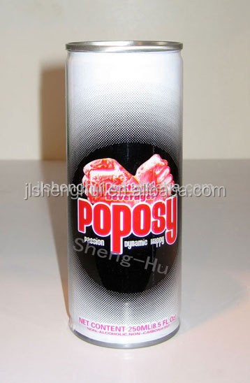 "250ml ""Popsy"" Brand Tin Canned Energy Drink---OEM"