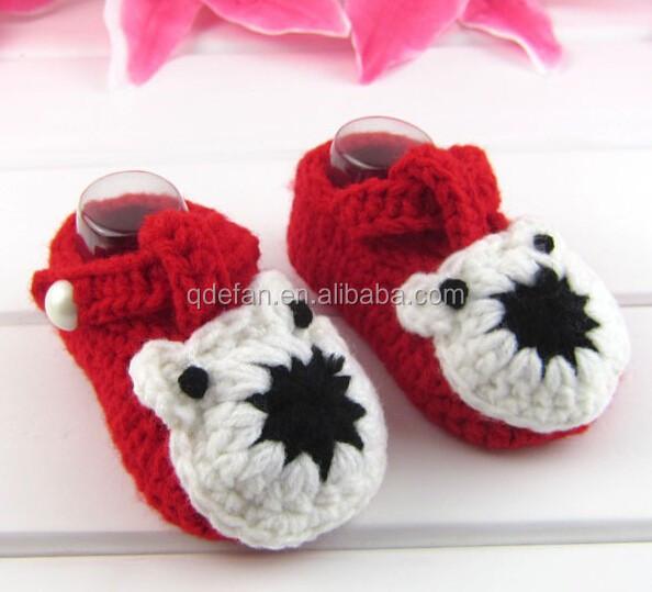 Animal Pattern Hello Kitty Crochet Baby Shoes Pattern ...