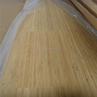 Natural or carbonized color bamboo veneer sheets for skateboards