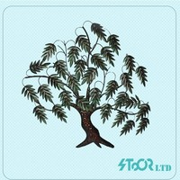 Trees and leaves metal wall art decorative