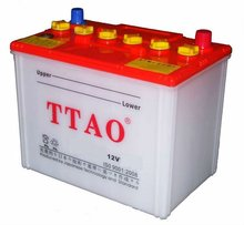 12v/60Ah dry charged car battery(DIN Standard)