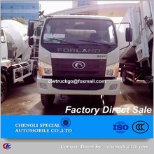 Chengli Special Automobile 3,4,5,6 or more cubic meters concrete mixing & transfer vehicle