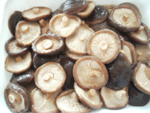 choice grade canned whole shiitake mushrooms in brine