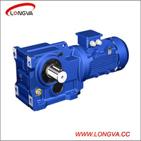 K series helical-bevel geared motor/speed reducer