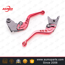 Motorcycle Adjustable CNC brake and clutch lever set for three color