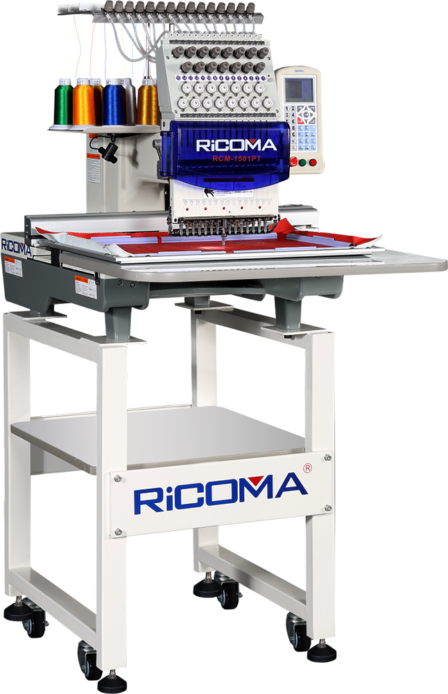 RCM-1501PT Single Head Embroidery Machine