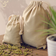 eco-friendly 100 cotton rice gift bags