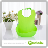 New design silicone baby bib,soft waterproof baby bib