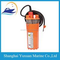 24V / 12V Submersible Deep Well Water DC Pump / Alternative Energy Solar Battery