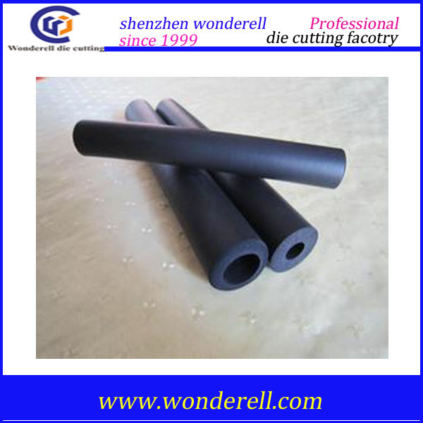 EVA/NBR foaming rubber tube/plastic tube/handle grip