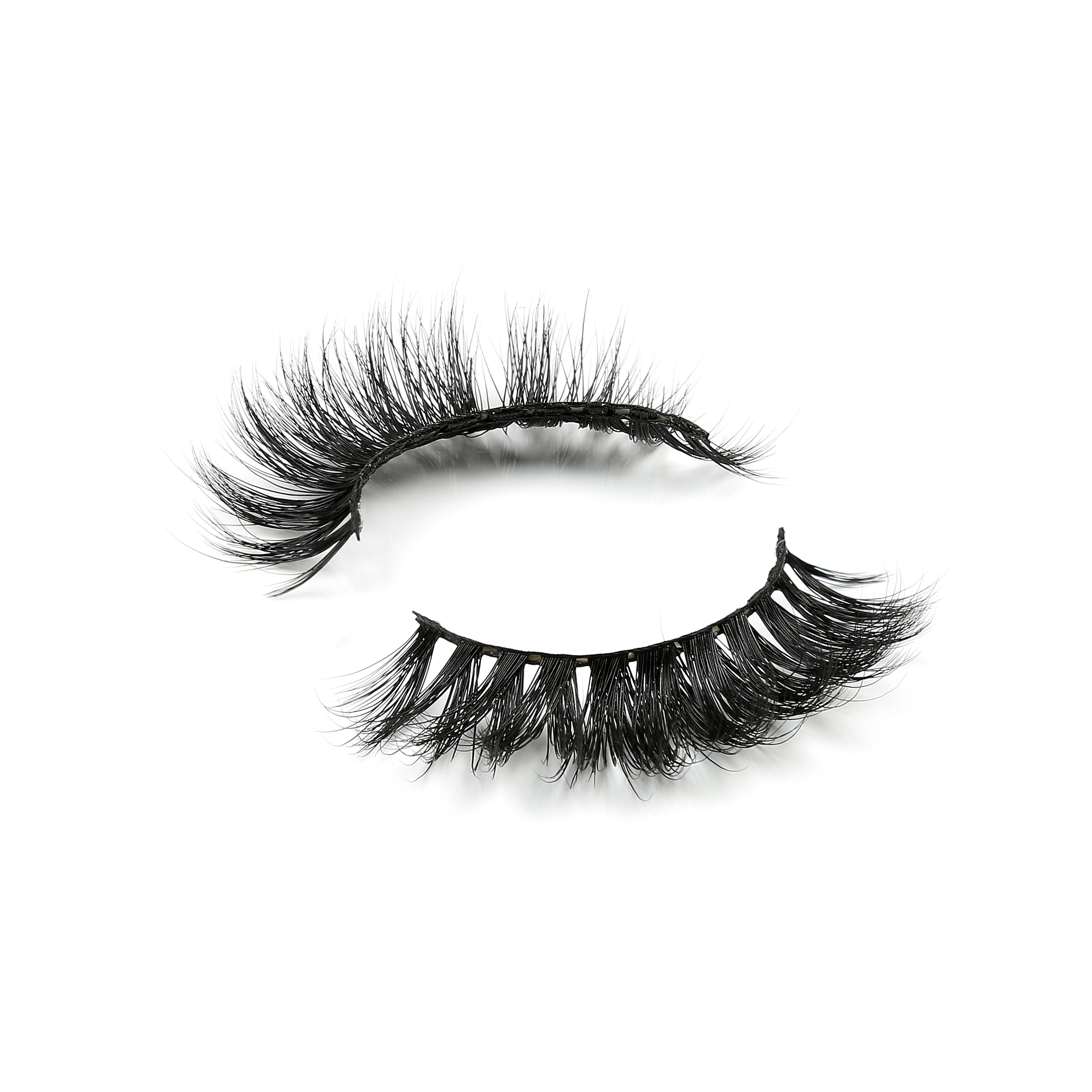 highest quality pure handmade reusable cruelty free 100% mink fur eyelashes made in indonesia