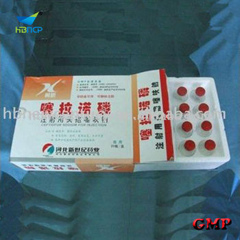 Ceftiofur sodium powder for injection