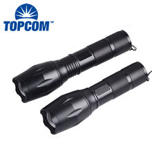 LED Tactical flashlight Brightest Max 800 Lumens, High Power Zoom 5 Modes With Strobe Torch Light For Camping,Survival
