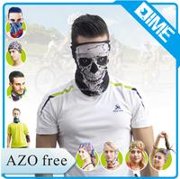 Custom Design Available Sublimation Printing Bandana Skull For Biker Games