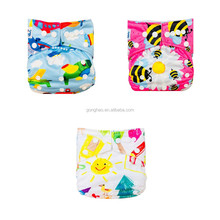 Babyland Eco-friendly Patterned Baby reusable nappy hot diaper girls