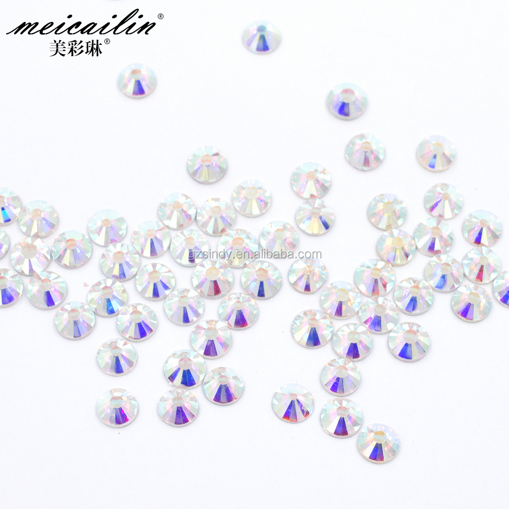 White Clear Shining Nail Art Crystal 3D Nail Decoration Rhinestone