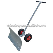 gas powered snow shovel with wheel