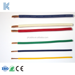 Machine Tool Wire Appliances Nylon Jacket 8 awg 6 awg THHN Building Wire